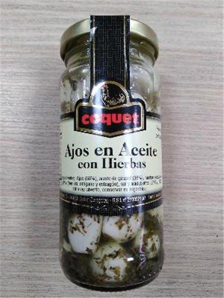 Ajos con hierbas Coquet
