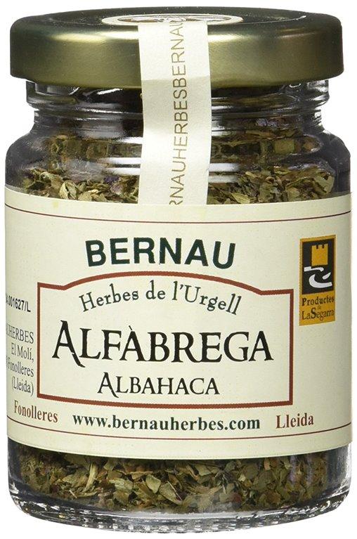 Albahaca 15gr. Bernau Herbes de l'Urgell. 12un., 1 ud