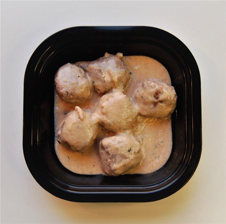 Albóndigas de pollo con salsa de almendras, 1 ud
