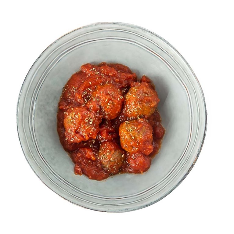 Albóndigas Mixtas con Tomate