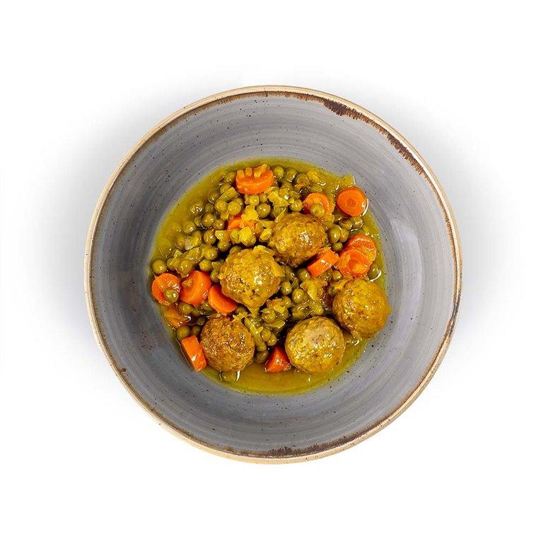 Albondigas  Mixtas en Salsa de Verduras