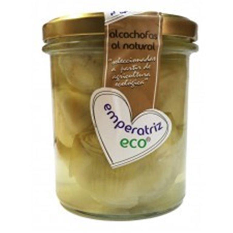 Alcachofa cuartos al natural vidrio, 330 gr