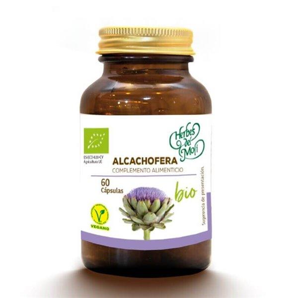Alcachofera BIO - 60 cápsulas - Herbes del moli