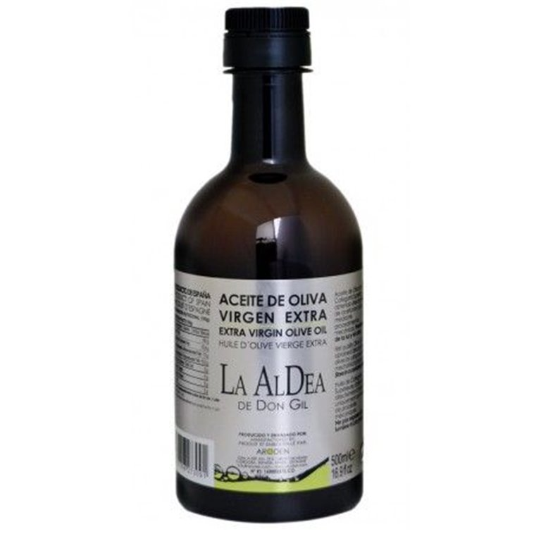 Aldea de Don Gil. Aceite de oliva. 6 botellas de 500ml, 1 ud