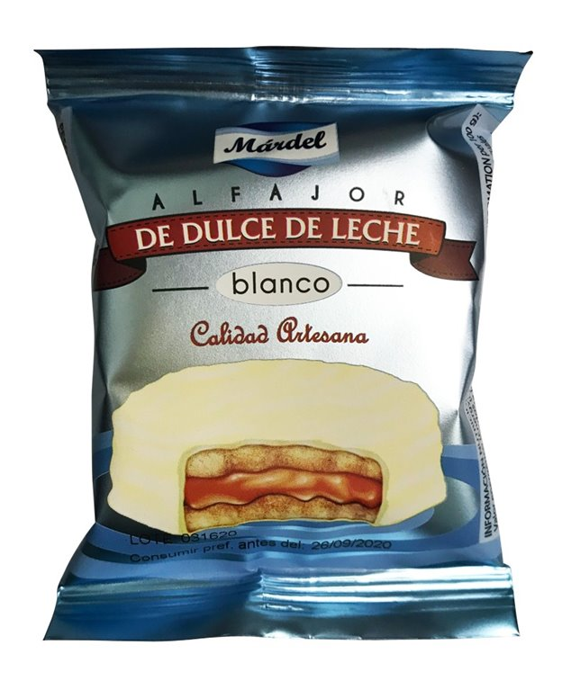 ALFAJOR BLANCO MARDEL