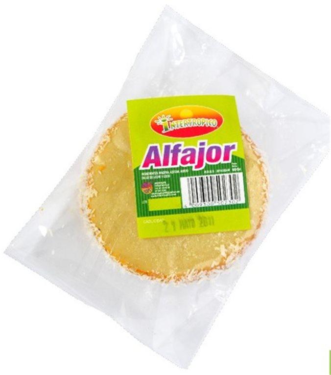ALFAJOR INTERTROPICO X 60GRS