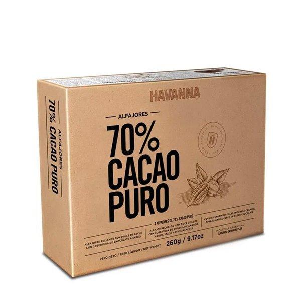 Alfajores Argentinos de 70% Cacao Puro