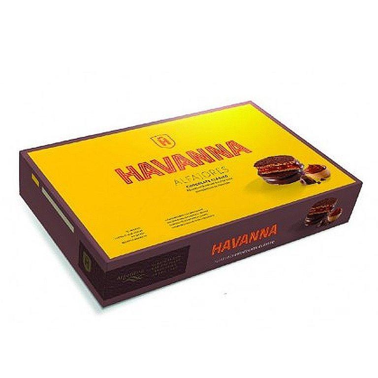 Alfajores de Chocolate (paquete de 6) 306gr. Havanna. 12un., 1 ud