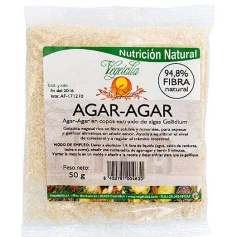 Alga Agar Agar (Copos) Bio 50g, 1 ud