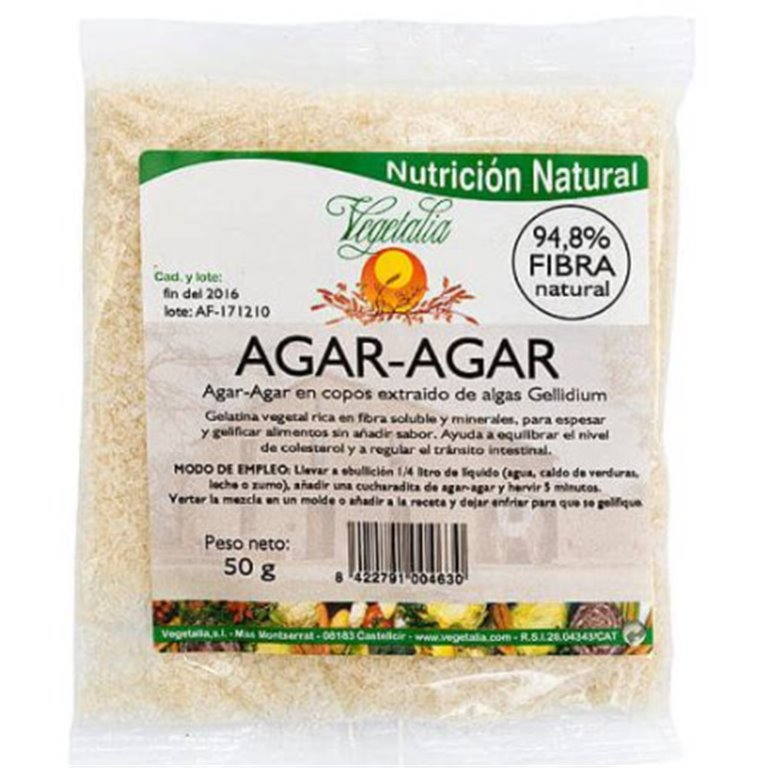 Alga Agar Agar (Copos) Bio 50g