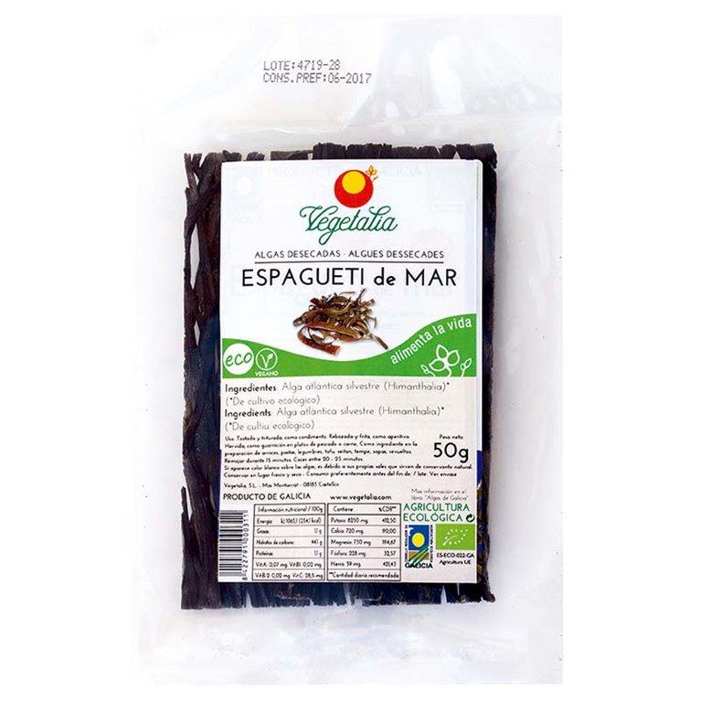 Alga Espagueti de Mar Bio 50g