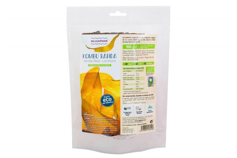 Alga Kombu rápida, 100 gr