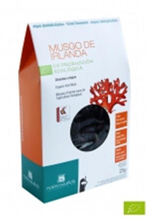 Alga Musgo de irlanda deshidratada, 30 gr