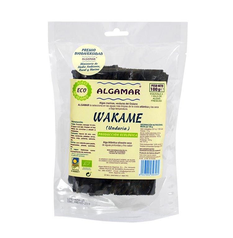 Alga Wakame Bio 100g