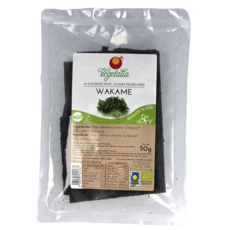 Alga Wakame Bio 50g, 1 ud