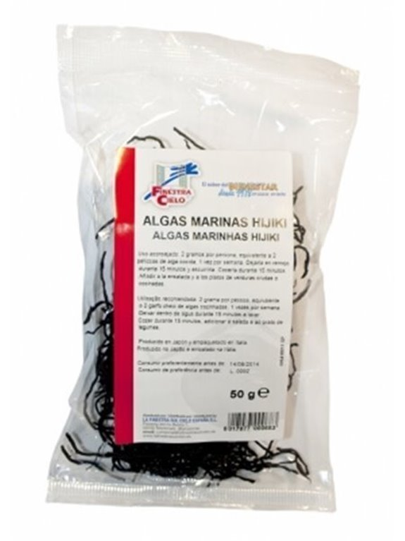 Algas marinas Hijiki-Boshu, 50 gr