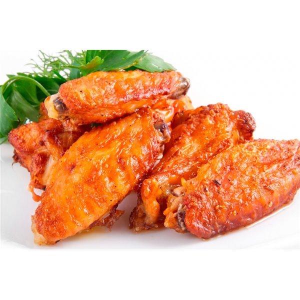 Alita de pollo adobada