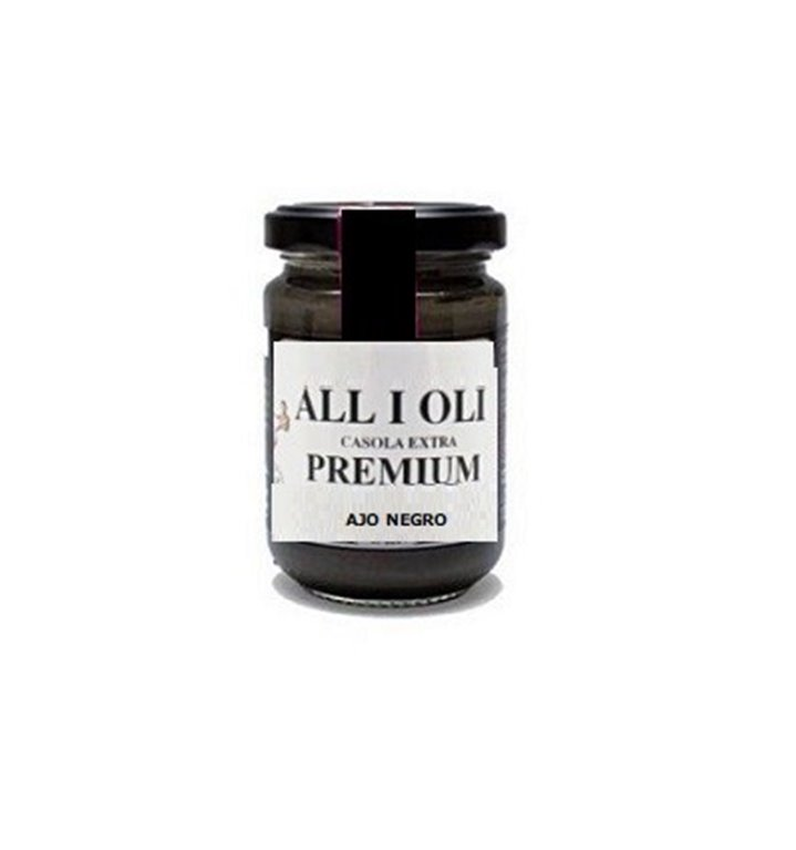 Allioli Casero con Ajo Negro 120 gr., 1 ud