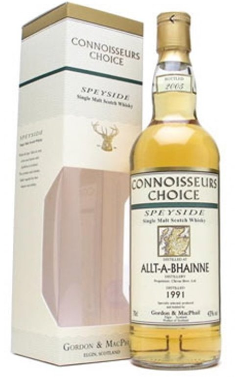 Allt-A-Bhainne Distilled 1991 Bottled 2005