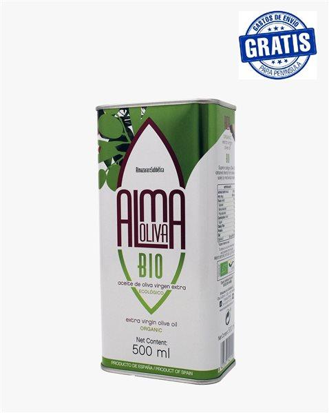 Almaoliva Bio. Caja de 15 latas de 500ml.