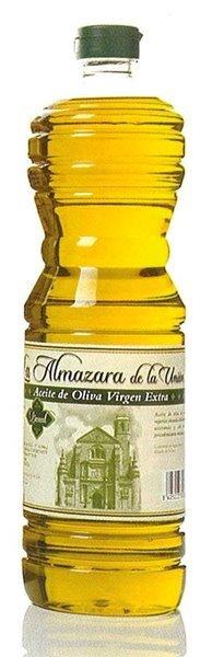 Almazara de la Union. Aceite de oliva Picual. 15 botellas de 1 Litro
