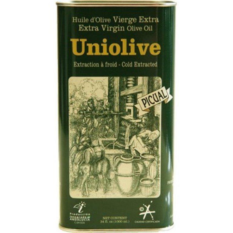 Almazara de la Union. Aceite de Oliva Picual. 16 Latas de 1 Litro, 1 ud