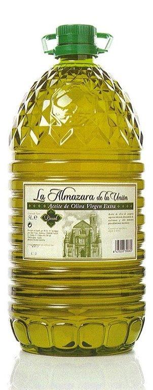 Almazara de la Union. Aceite de oliva Picual. 3 Garrafas de 5 litros., 1 ud
