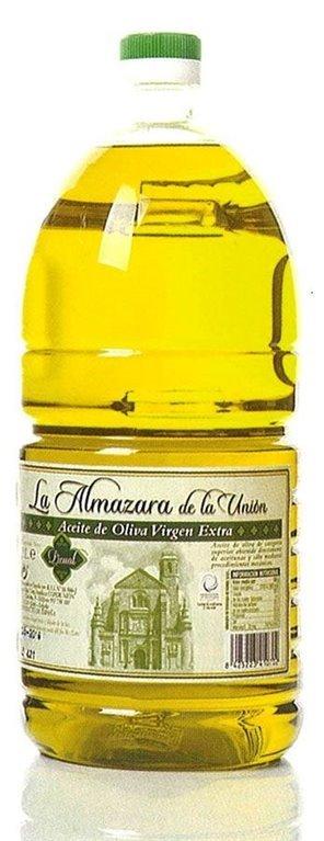Almazara de la Union. Aceite de oliva Picual. 8 Garrafas de 2 Litros, 1 ud