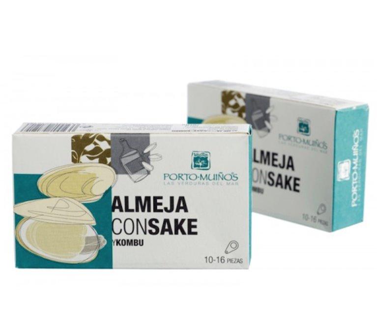 Almeja Con Sake Y Kombu