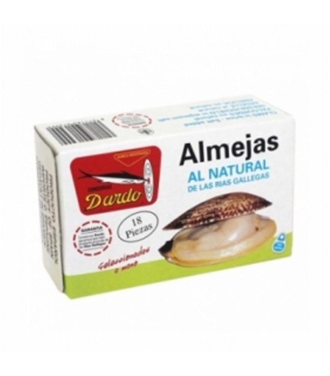 Almejas al natural de Rias Gallegas OL-120, 18/20u. Dardo. 25un.