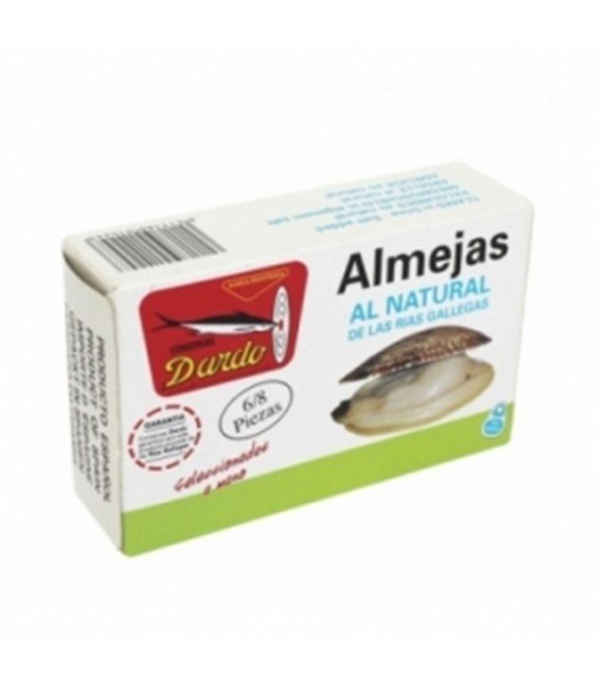 Almejas al natural de Rias Gallegas OL-120, 6/8u. Dardo. 25un.