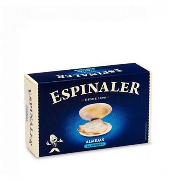Almejas al Natural Espinaler 25-30 Piezas