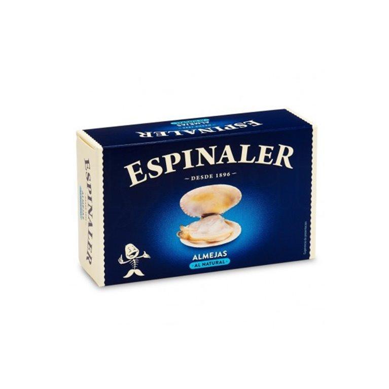 Almejas al Natural Espinaler 25-30 Piezas, 1 ud