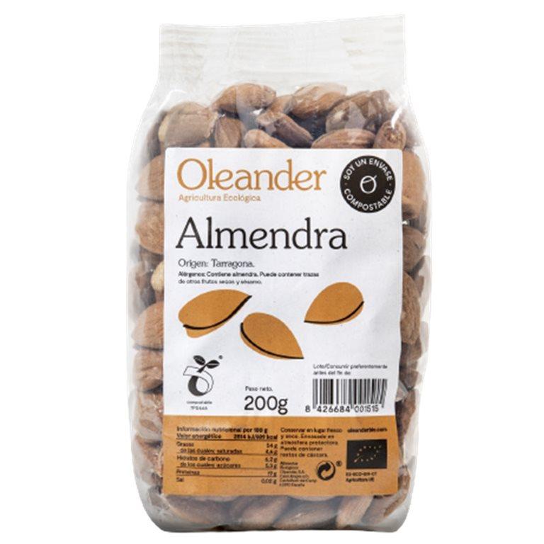 Almendra Cruda con Piel Bio 200g