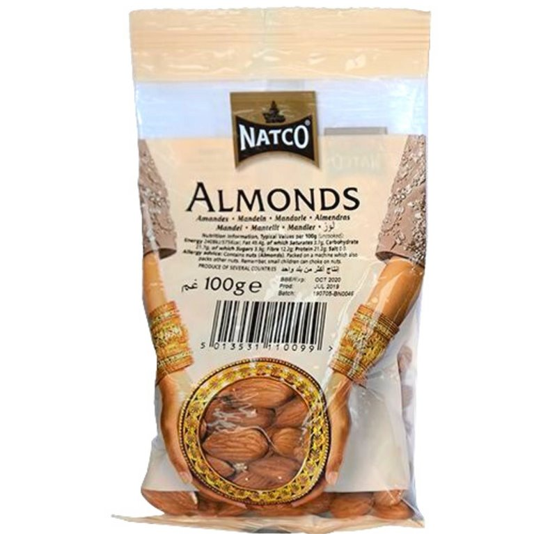 Almendras | Almonds Natco 100g