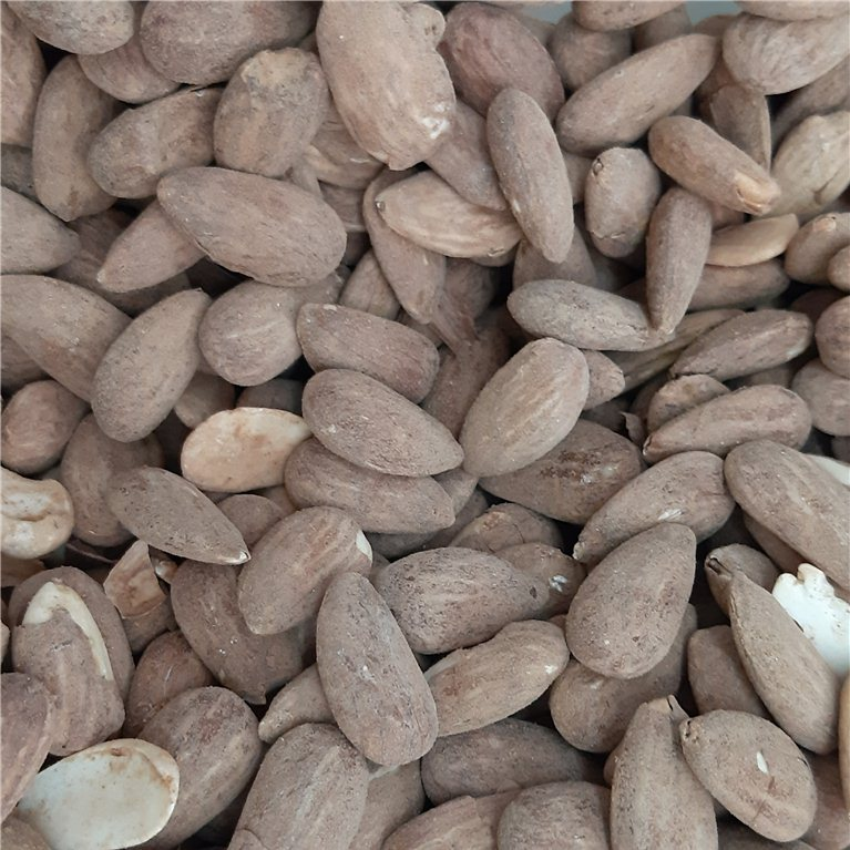 Almendras con piel tostadas, 150 gr