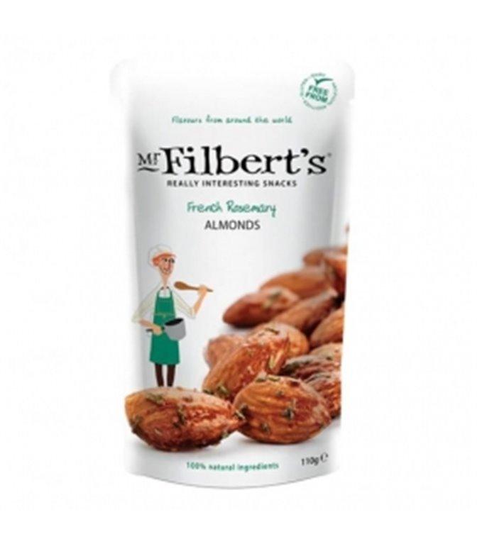 Almendras con Romero francés 40gr. Mr. Filber'ts Snacks. 12ud
