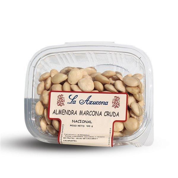 Almendras crudas repeladas marcona españolas La Azucena