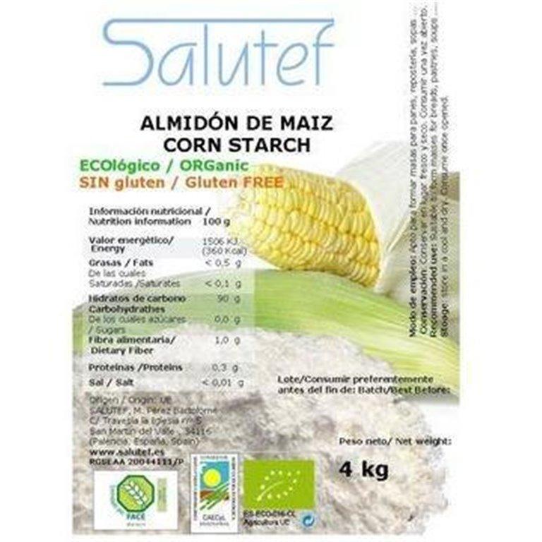 Almidón de Maíz (Maicena) Bio 4kg, 1 ud