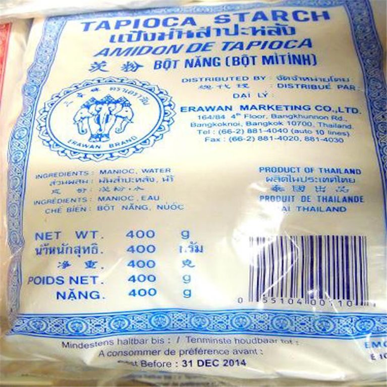 Almidón de tapioca 400g