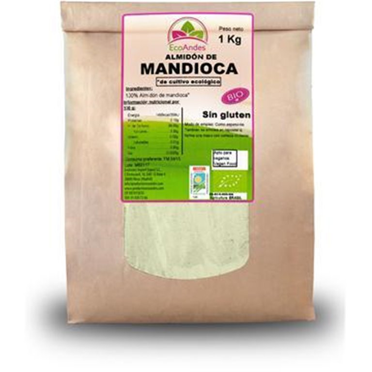 Almidón de Yuca Agrio Bio 25kg
