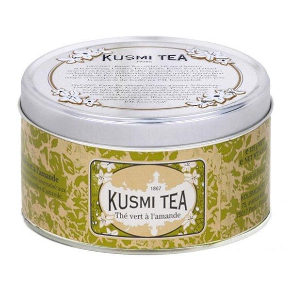 Almond green tea 125gr. Kusmi Tea. 6un.
