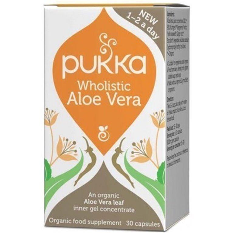 Aloe Vera Wholistic 30 Cap