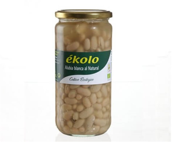 Alubia blanca al natural BIO - Ékolo
