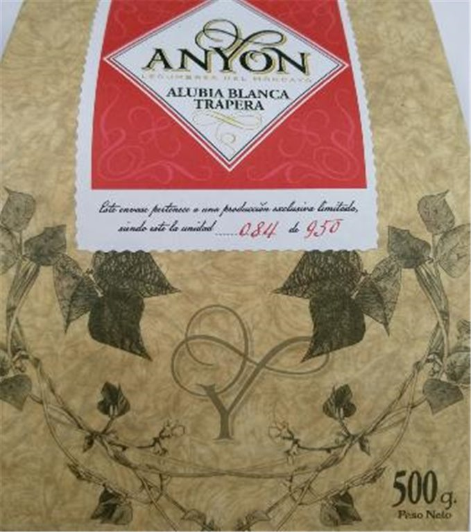Alubia blanca Trapera Anyon, 1 ud