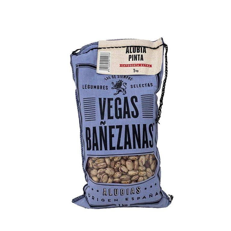 Alubia pinta 1kg Vegas Bañezanas