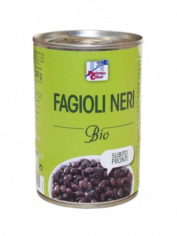 Alubias negras en lata listas para comer, 400 gr