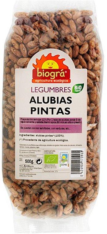 Alubias Pintas Bio 500g, 1 ud