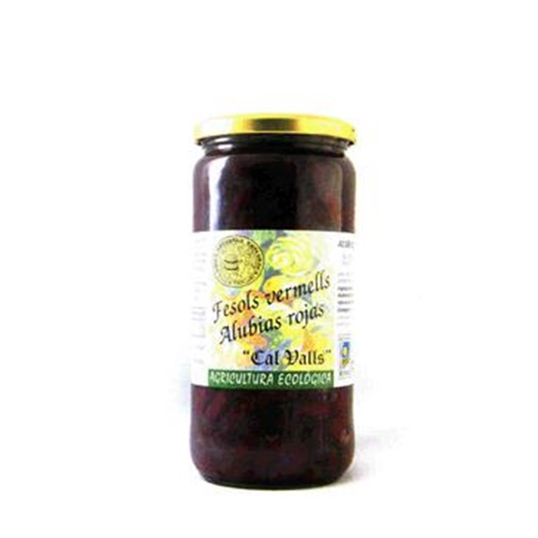 Alubias Rojas Cocidas Bio 500g, 1 ud