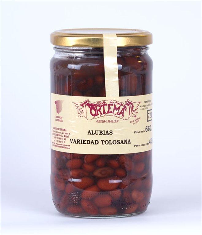 Alubias variedad Tolosana, 1 ud